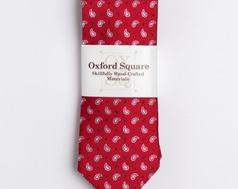 "The ""Red Eye"" Paisley Tie"