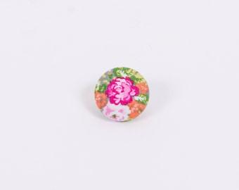 """""""Floral Friday"""" Floral Lapel Button"""