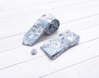 Blue Floral Gift Pack