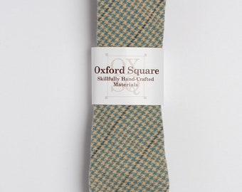 "The ""Hounds Fangs""  Hounds-tooth Tie."
