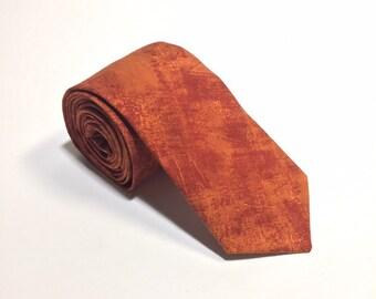 """The """"Burn Pile"""" Plain Tie"""