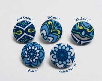 Paisley Lapel Button Series