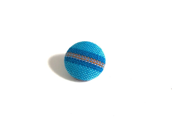 """The Horizon"" Striped Lapel Button"