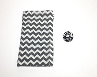Monochrome Square and Button Pack
