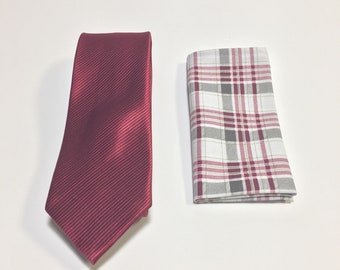 """The """"Wedding Reaction"""" Tie and Square Pack"""