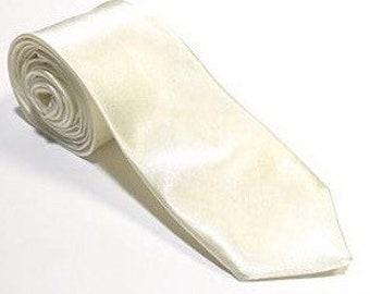 """The """"White Wedding"""" Silk Tie"""