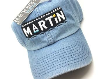 1d00871a496 Denim Martin Show Dad Cap Hat Rare Exclusive
