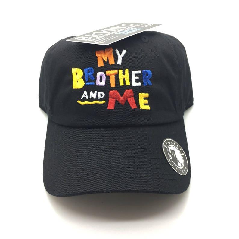 642e8d50f65 Black My Brother   Me Dad Cap Hat