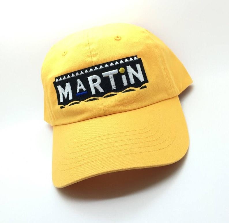 35364ac740c Yellow Martin Dad Cap Hat