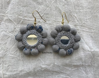 Morning Song Mirror Earrings