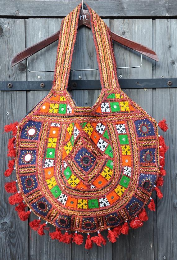 b752dd0bec Handbag Hippy Style Festival bag Handmade Bohemian Bag