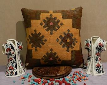 kilim pillow,turkish pillow,20x20inch,50x50cm,pillow covers 20 x 20,kilim pillow,kilim pillow cover,pillow covers