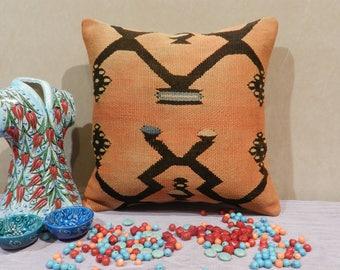 pillows,pillow covers,kilim pillow, turkish pillow,handmade pillow,kilim pillow cover,pillow covers 16 x 16,16x16inch,40x40cm
