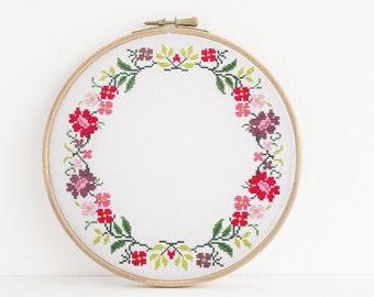 Border cross stitch | Etsy