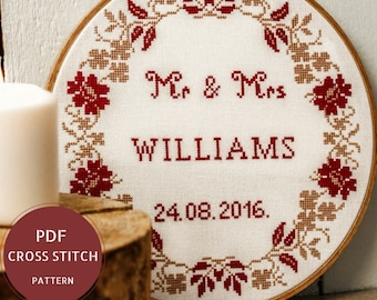 Engagement gift for couple personalized cheese board and knife mr and mrs wedding cross stitch pattern do it yourself gift for couple diy wedding sign solutioingenieria Images