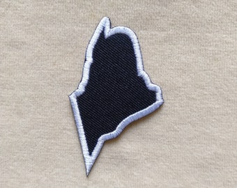 """Maine Augusta State Patches 3x2/"""""""