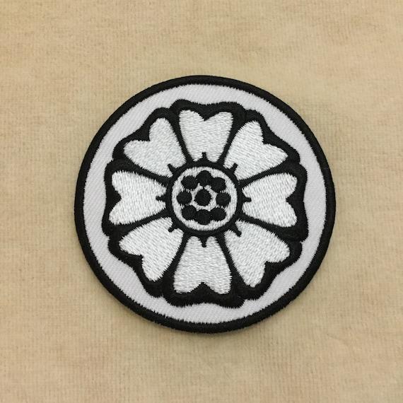 White Lotus Avatar Bender Symbol Iron On Patch Etsy