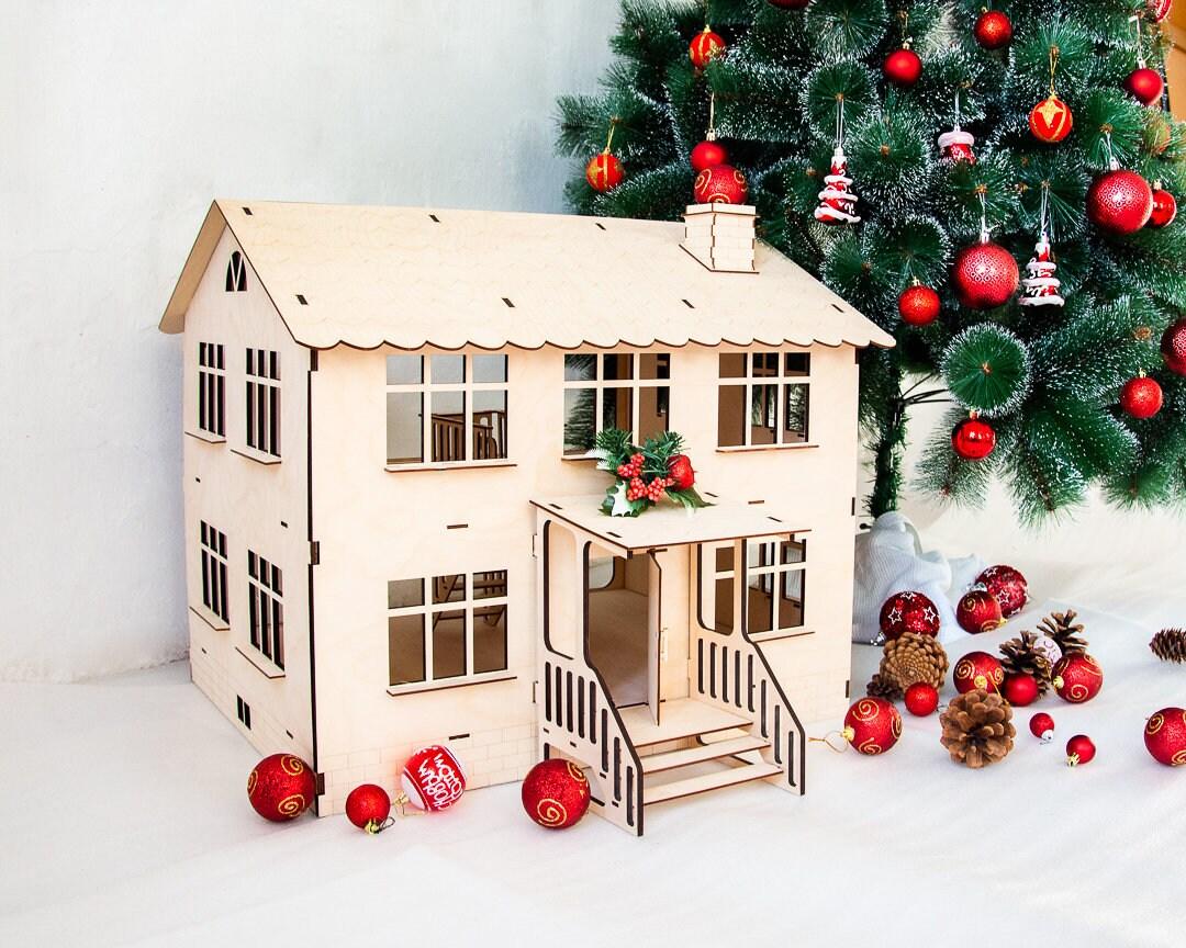 20 korting op 1 12 schalen doll house houten poppenhuis for Poppenhuis meisje