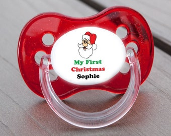 BO 5 PERSONALISED DUMMY PACIFIER SOOTHER ALL TEATS,SIZES /& COLOURS
