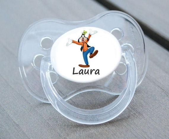ALL TEATS SIZES /& COLOURS MINNIE PERSONALISED DUMMY PACIFIER SOOTHER