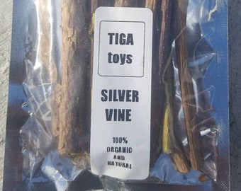 10 x Silvervine Sticks Actinidia Polygama Activity Cat Chew Sticks (10 Sticks)