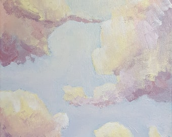 Pastel Cloud Painting