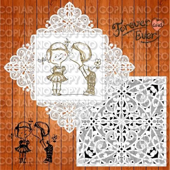 Wedding Invitation Card Template Arabesques Eps Ai Svg Lasercut Instant Download Vector For Wedding Invitations Laser