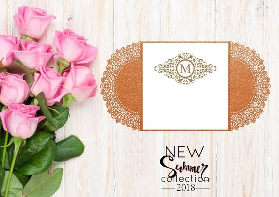 Wedding Invitation Card Template Figurines Flowers Ai Eps Svg Lasercut Download Vector For Invitations