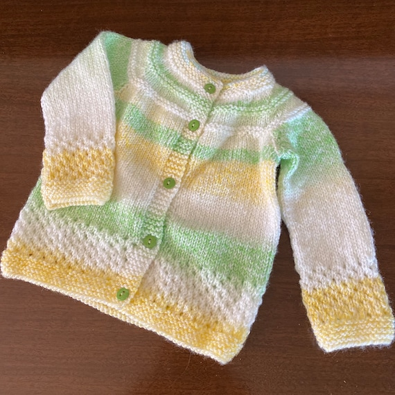 Vintage 1970/'s Confetti Knits Baby Girl/'s One Piece Outfit Size 0-6 Months