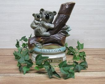"""Jim Beam """"Australia"""" Koala Bears Whiskey Decanter/1973 Whiskey Decanter"""