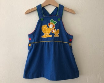 781e576ff9a Vintage Girls Dress