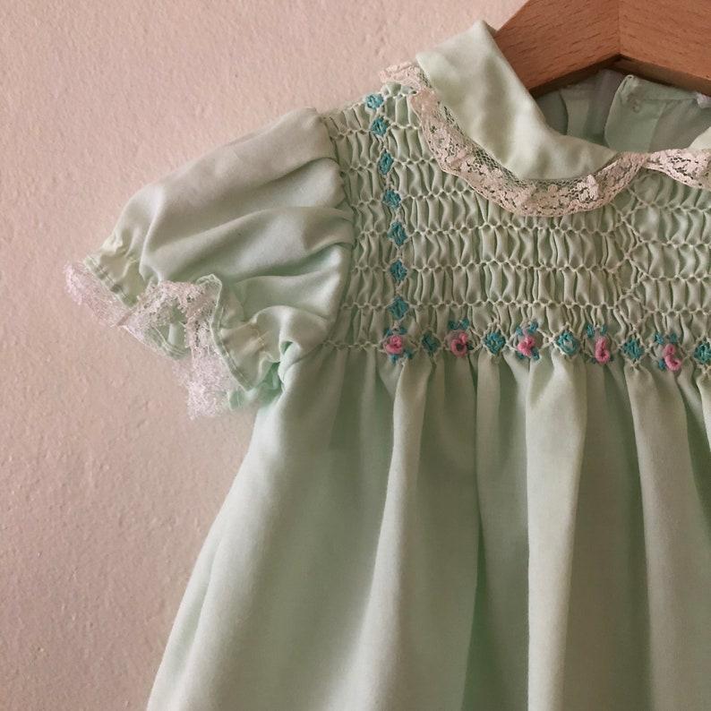 Vintage Baby Girls Dress 6-12 Months Vintage Baby Girls Dress Set Vintage Baby Dress