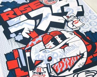 popular items for rasta poster