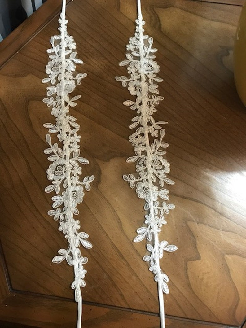 OFF WHITE Made to Order DS06 Detachable Lace Straps