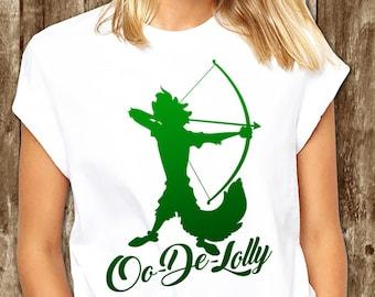 """Robin Hood Disney Shirt // """"Oo-de-lally"""" // Men's Disney Shirt // Plus Size Disney Shirts // Robin Hood Shirt // Men's Robin Hood T-Shirt"""