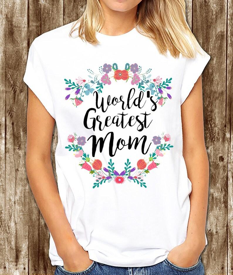 Camisa De Mamá T Más Grande Del Mundo Para Mamá Camiseta Del Etsy