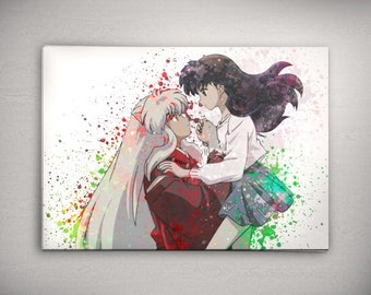 Anime Wall Art Etsy