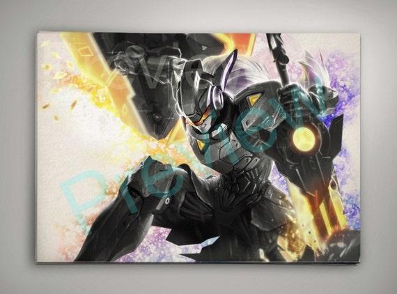 Project Leona League of Legends Wall Art | Etsy