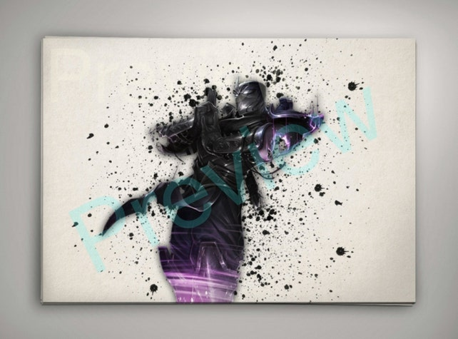 Shen Poster League of Legends Wall Art | Etsy
