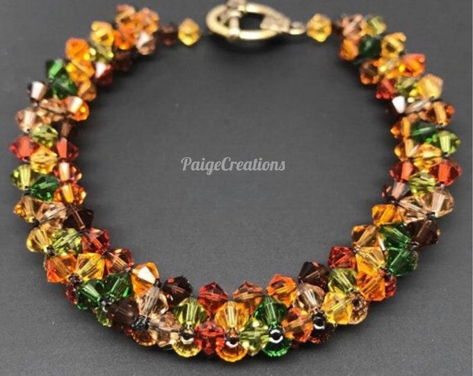 Swarovski Crystal Bracelet, Swarovski Bracelet, crystal bracelet, fall bracelet