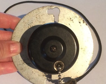 Vintage Pull Chain Switch Bakelite Mount
