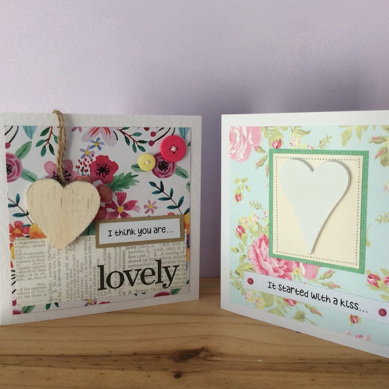 Romantic Birthday Card For Girlfriend Wedding Anniversary