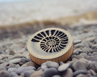 The NEWEST MUSICAL INSTRUMENT! Strumok/The Babbling Brook(nautilus). Best office gift! Strumok.Seashell/ammonite/relax/yoga gift/hippie