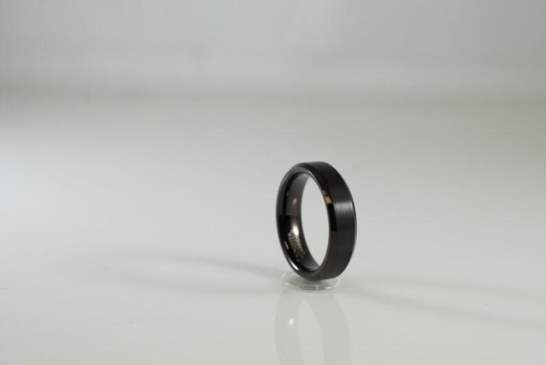 Sensible Titanium Ridged Edge 14k Yellow Inlay 8mm Brushed/ Wedding Ring Band Size 10.50 Carefully Selected Materials Bridal & Wedding Party Jewelry Engagement & Wedding