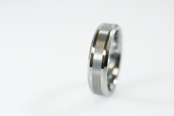 Bijoux fantaisie 4 Mm Slim noir en carbure de tungstène anneau Femme homme mariage promesse Bande Cadeau