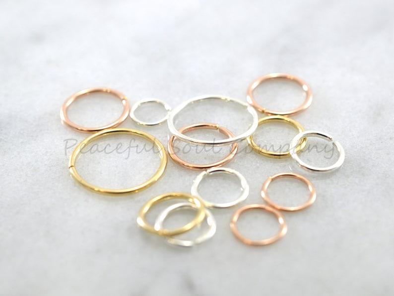 Mini hoop Cartilage Hoop Nose Septum Lip hoop Earrings Nose Ring Septum piercing Helix Tragus Silver Rose Gold Daith Rook Conch Orbital