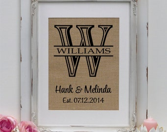 Cotton Anniversary Gift for Her | LARGE Wedding Date Print | Perfect Gift for Engagements, Weddings, Anniversaries | Provide Names & Date
