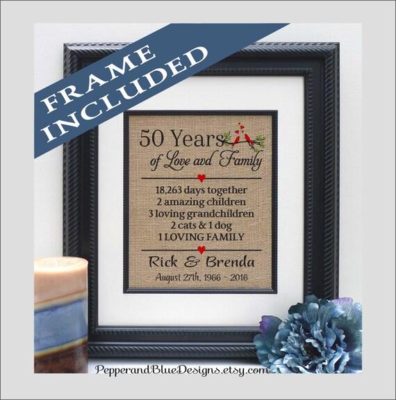 50th Anniversary Gifts 50 Years 50 Year Anniversary Traditional Gift For Anniversary Traditional Gift 50th Anniversary Ann402 50