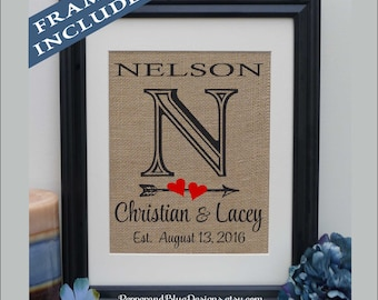 2nd Wedding Anniversary Gift For Her, Anniversary Gift Ideas, Wedding Gift, 30 Year Wedding Anniversary, Parents Anniversary Gift (pnb201n)