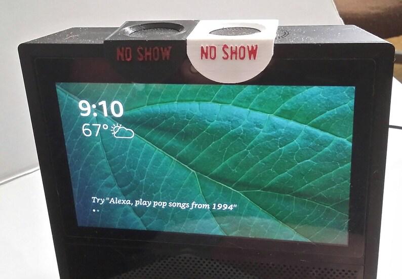 a6c8f6c02952 Amazon Echo ShowNO SHOW privacy camera cover slide black or